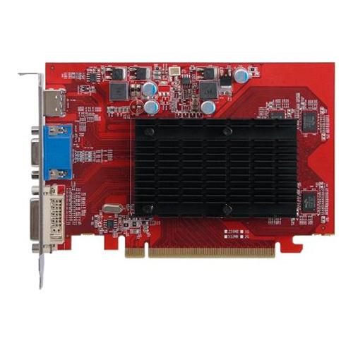CLUB3D Radeon HD 5450 Noiseless Edition Produktbild back L