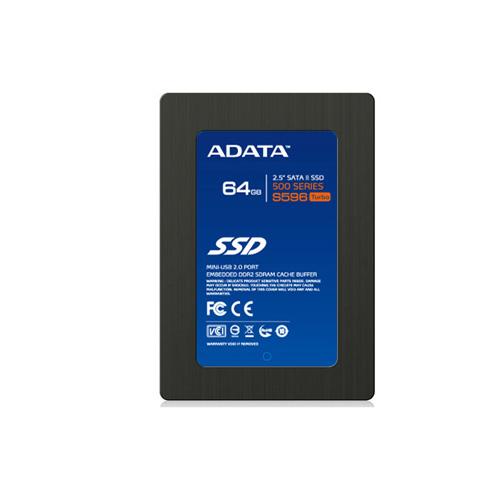 A-DATA SSD64GB Produktbild front L