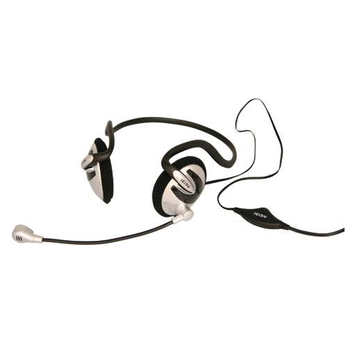 ICIDU Neckband Kopfhërer mit Mikrophon & Volumeregelung Produktbild front L