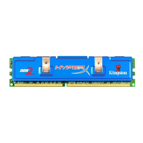 Kingston HyperX 2GB (1X2GB), 1066MHz, DDR2, Non-ECC, CL7 (7-7-7-20), DIMM Produktbild front L