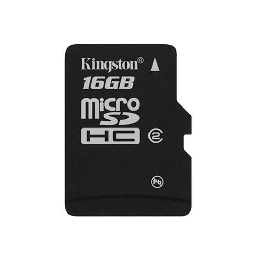 Kingston 16GB microSDHC w/o Adapter Produktbild front L