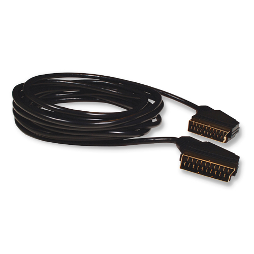 Belkin Scart to Scart Cable (21 pin) - 5m Produktbild front L