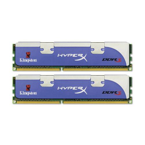 Kingston HyperX 2GB, 1800MHz, DDR3, Non-ECC, CL8 (8-8-8-24), DIMM, (Kit of 2), Tall HS Produktbild front L