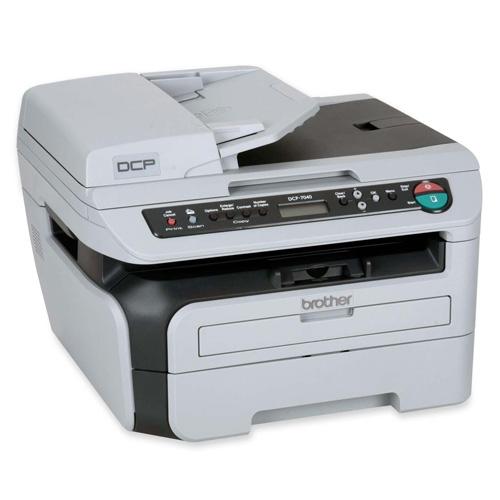 Brother DCP-7040 Produktbild back L