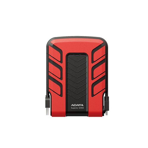 A-DATA 640GB SH93 Portable Produktbild back L