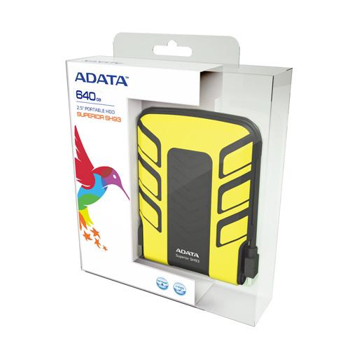 A-DATA 640GB SH93 Produktbild side L