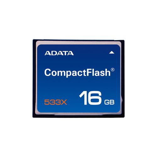 A-DATA CF 16GB 533X Produktbild front L