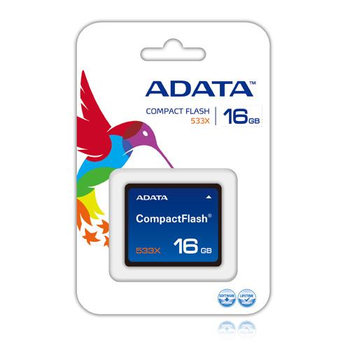 A-DATA CF 16GB 533X Produktbild back L