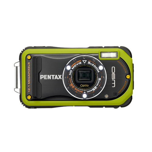 Pentax Optio W90 Produktbild front L