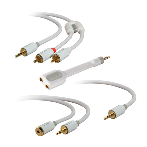 Belkin Cable Kit for Portable Music Players Produktbild front L
