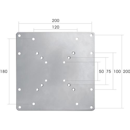 Newstar VESA adapter plate Produktbild side L