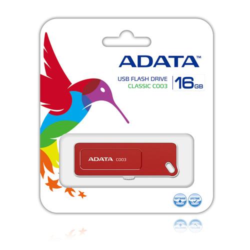 A-DATA 16GB C003 Produktbild back L