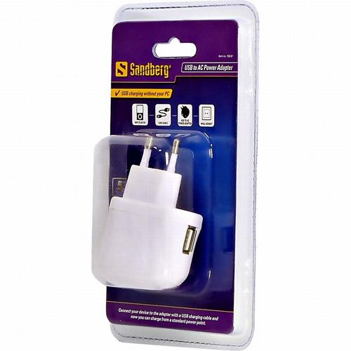 Sandberg USB to AC Power Adapter Produktbild back L
