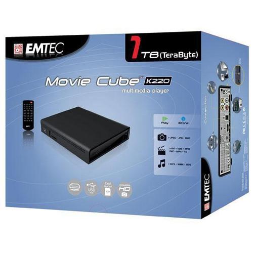 Emtec Movie Cube K220 1TB Produktbild side L