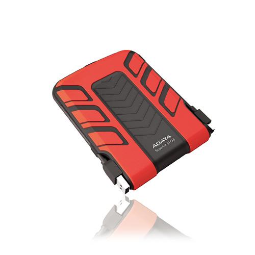 A-DATA 750GB SH93 Portable Produktbild front L