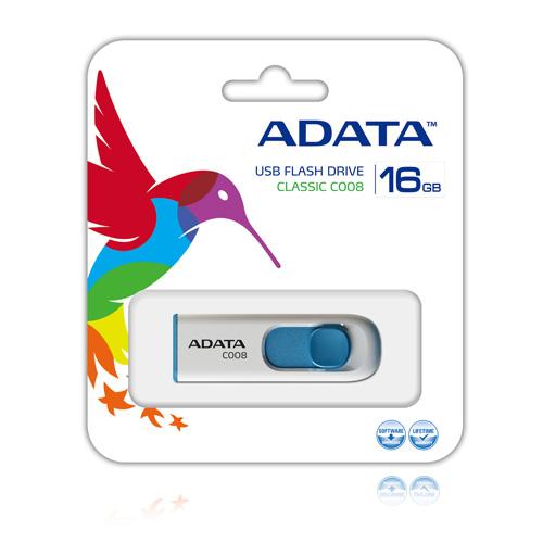 A-DATA 16GB C008 Produktbild back L