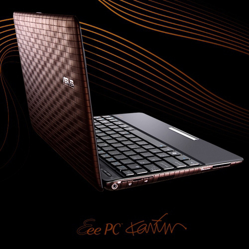 Asus Eee PC 1008P (Karim Rashid) Produktbild side L
