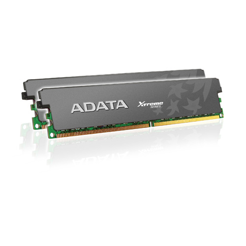 A-DATA XPG Xtreme Series, DDR3, 1600 MHz, CL7, 4GB (2GB x 2) Produktbild front L