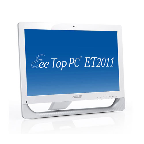 Asus EeeTop PC All-in-one PC ET2011E-W003E Produktbild front L