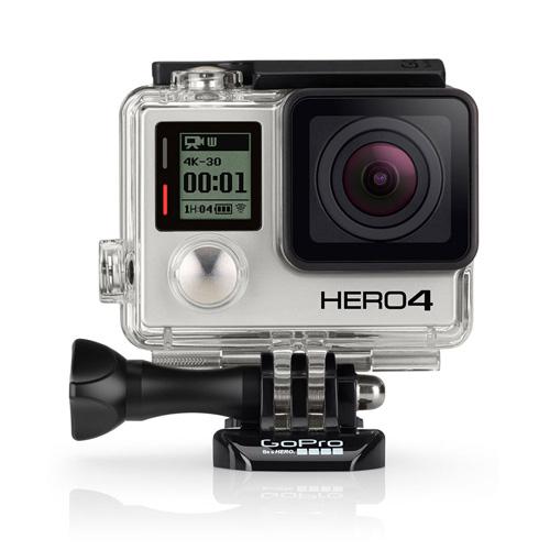 GoPro HERO4 Silver Produktbild front L