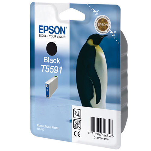 Epson Tintenpatrone Black T5591 Produktbild front L