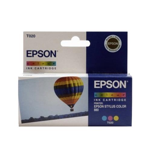 Epson Tintenpatrone Colour T020 Produktbild front L
