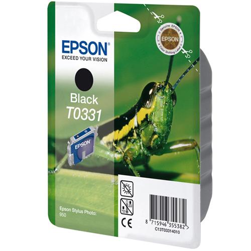 Epson Tintenpatrone Black T0331 Produktbild front L