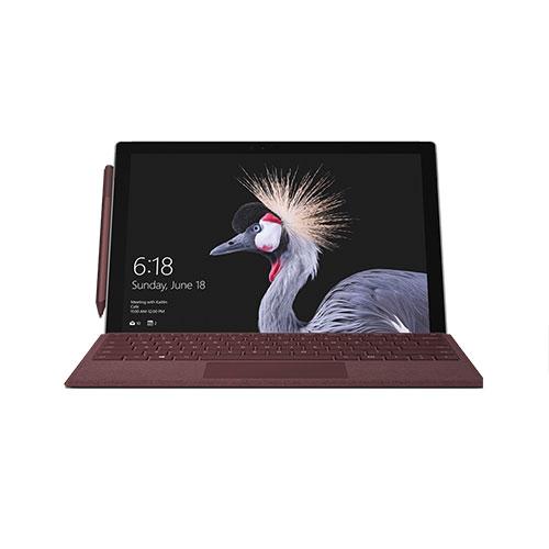 Microsoft Surface Pro Set Bordeauxrot Produktbild side L