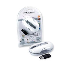 Conceptronic Elegante 2,4 GHz Wireless-Lasermaus Produktbild