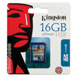 Kingston 16GB SDHC Produktbild back S