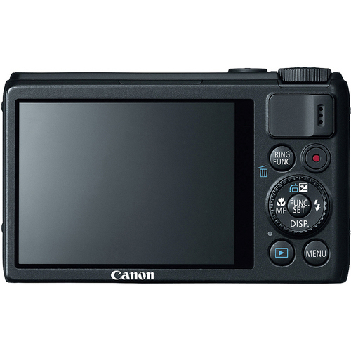 Canon PowerShot S100 product photo back L