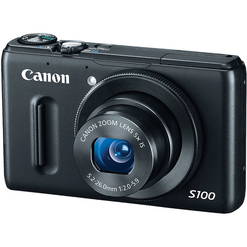 Canon PowerShot S100 product photo side L