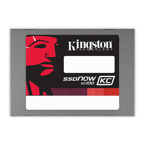 Kingston 120GB SSDNow KC100 product photo front L