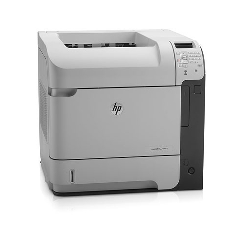 HP LaserJet printers Enterprise 600 M602n product photo back L
