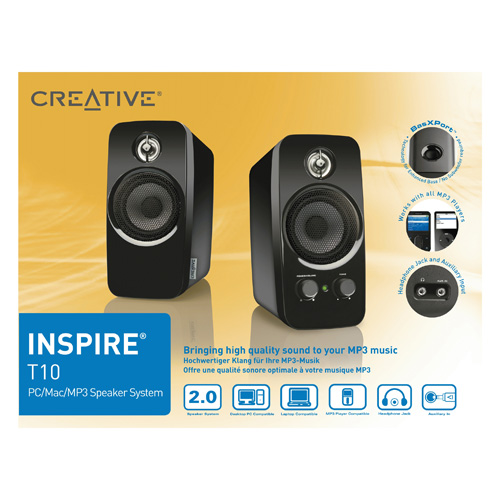 Creative Labs INSPIRE T10 product photo side L