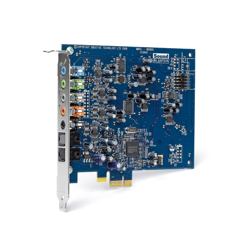 Creative Labs Sound Blaster X-Fi Xtreme Audio PCI Express product photo front L