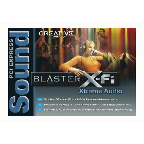 Creative Labs Sound Blaster X-Fi Xtreme Audio PCI Express product photo back L
