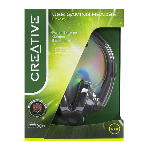 Creative Labs HS-950 product photo side L