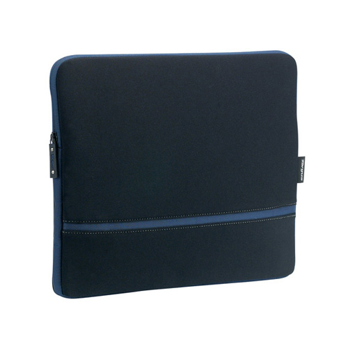 Targus Laptop Skin, Black/Blue product photo front L