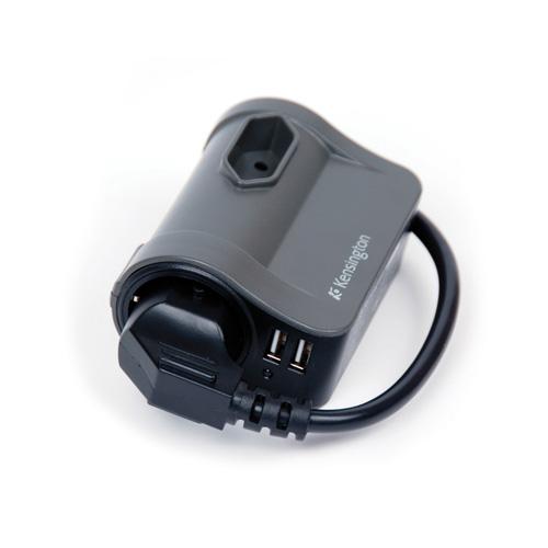 Kensington Portable Power Outlet product photo back L