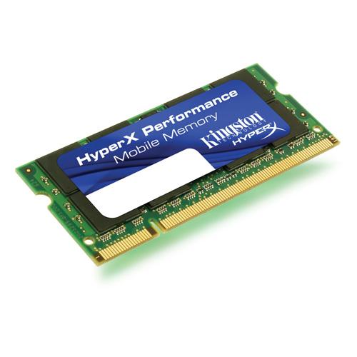 Kingston HyperX 2GB(2 x 1024MB), 800MHz, DDR2, Non-ECC, CL5 (5-5-5-18), SODIMM product photo front L
