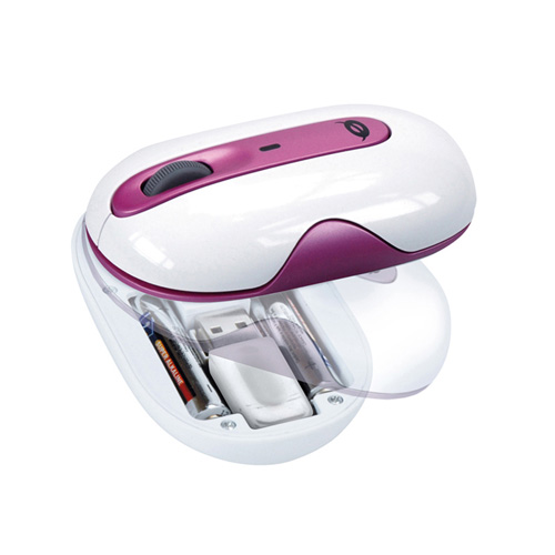 Conceptronic Stylish wireless 2.4 GHz Laser Mouse product photo side L
