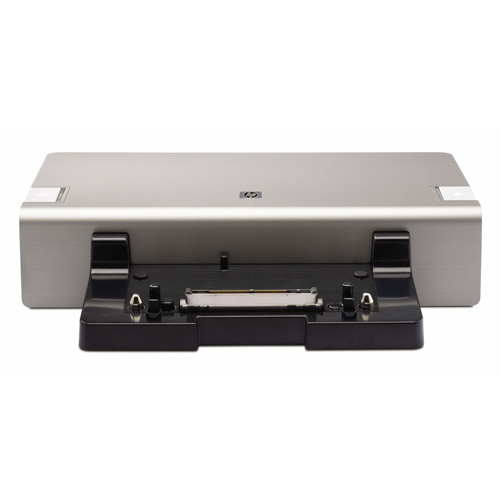 HP 2008 150W Advanced Docking Station  product photo front L