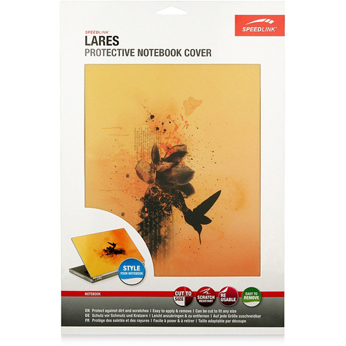 Speed-Link Lares Protective Notebook Cover, Fashion 1 product photo back L