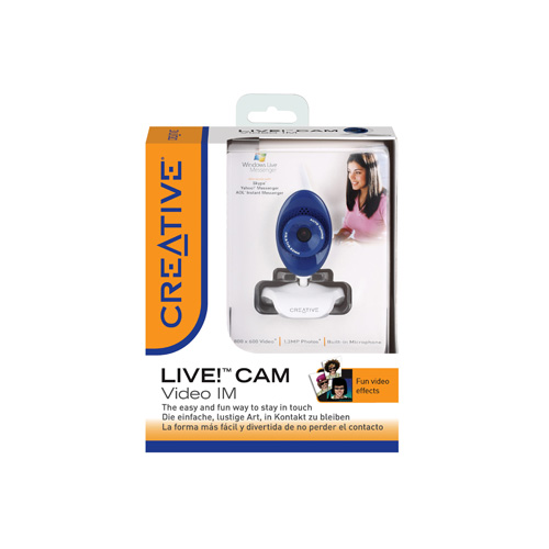 Creative Labs Live! Cam Video IM product.image.text.alttext back L