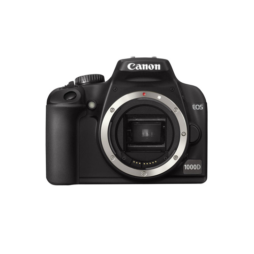 Canon EOS 1000D + EF-S 18-55 + EF 75-300 product photo front L
