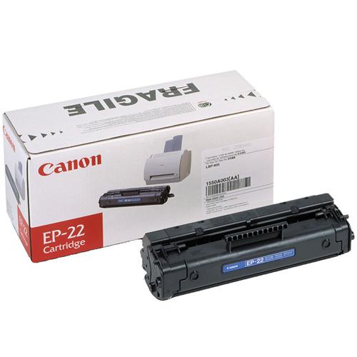 Canon EP-22 Black Toner Cartridge product photo front L