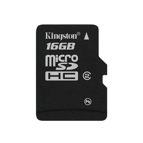 Kingston 16GB microSDHC w/o Adapter product photo front L