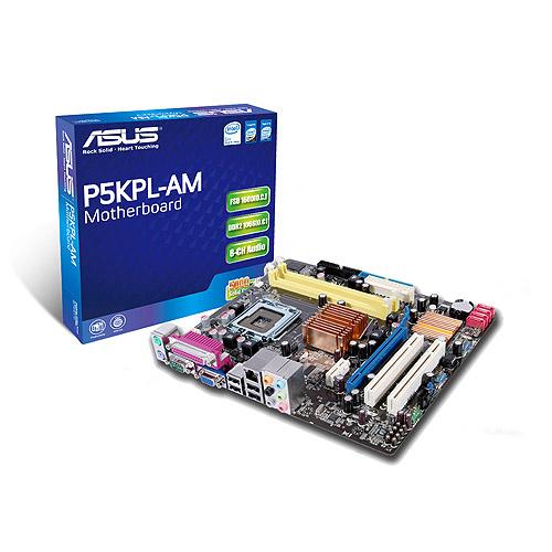 Asus P5KPL-AM SE product photo front L