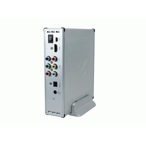 "Conceptronic 3.5"" Media Player SATA + HDMI product photo back L"